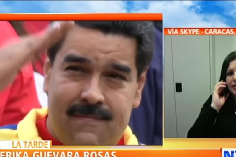 "Amnesty Americas Director Erika Guevara-Rosas has urged the Trump administration to ""monitor"" the devastating impact of its illegal economic sanctions on Venezuela. (Youtube)"